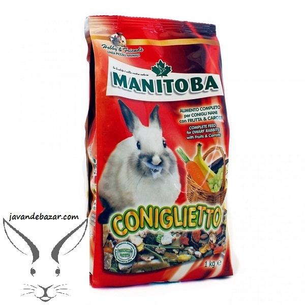 غذای خرگوش مانیتوبا manitoba