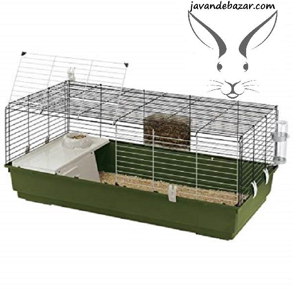 قفس خرگوش خوکچه فرپلاست 1متر