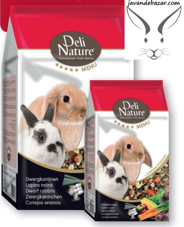 غذای خرگوش Deli