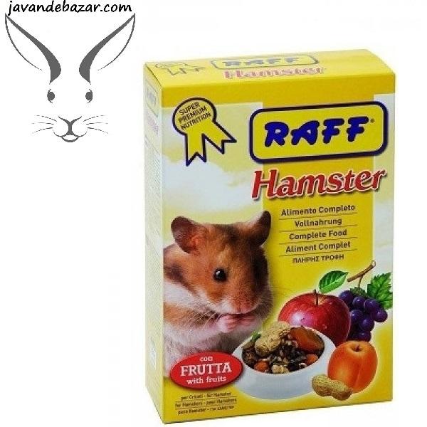 غذا همستر راف