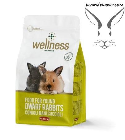 پادوان غذا بچه خرگوش پادوان